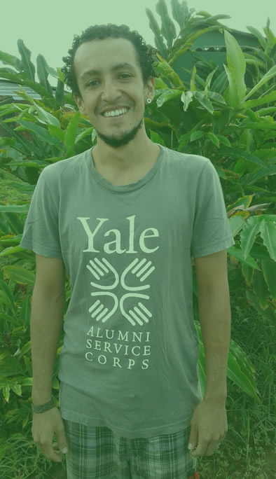 Paulo Sanjines Barreiro - Leader of cooperation with Yale Environmental Leadership